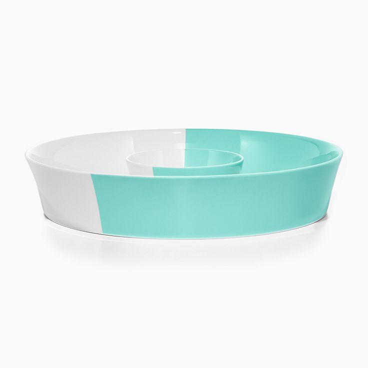 Color Block:Juego de ensaladera y cuenco de dos piezas