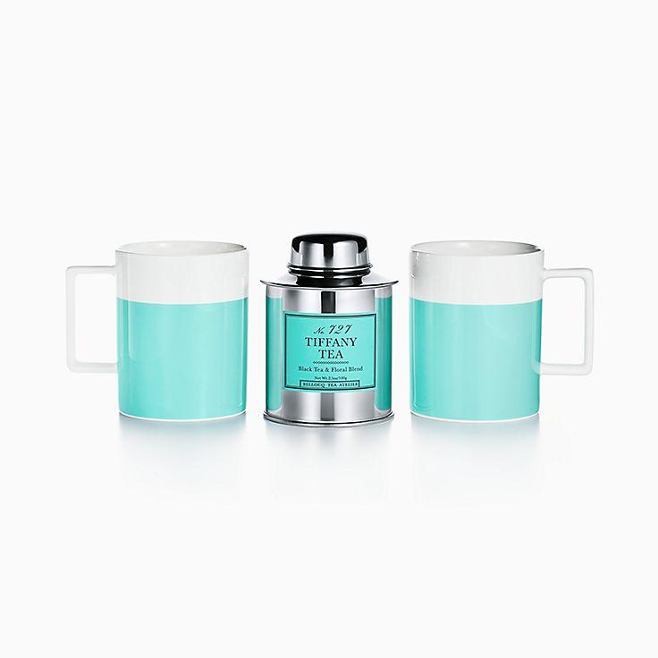 Color Block:Two-piece Mug and Tea Set