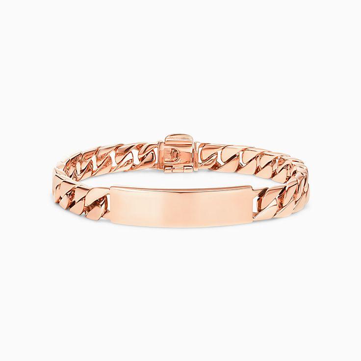 Curb Link I.D. Chain Bracelet