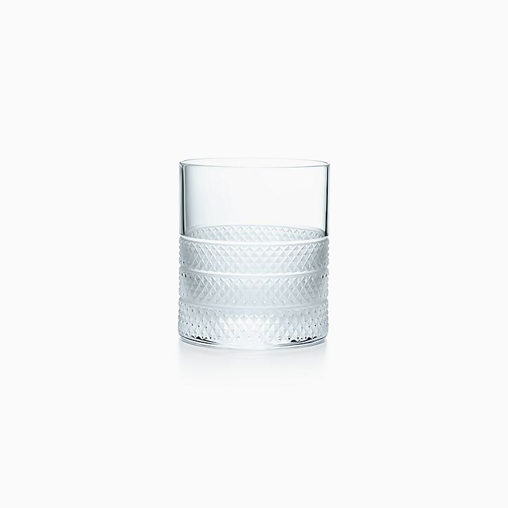 Diamond Point:Double Old Fashioned Glass