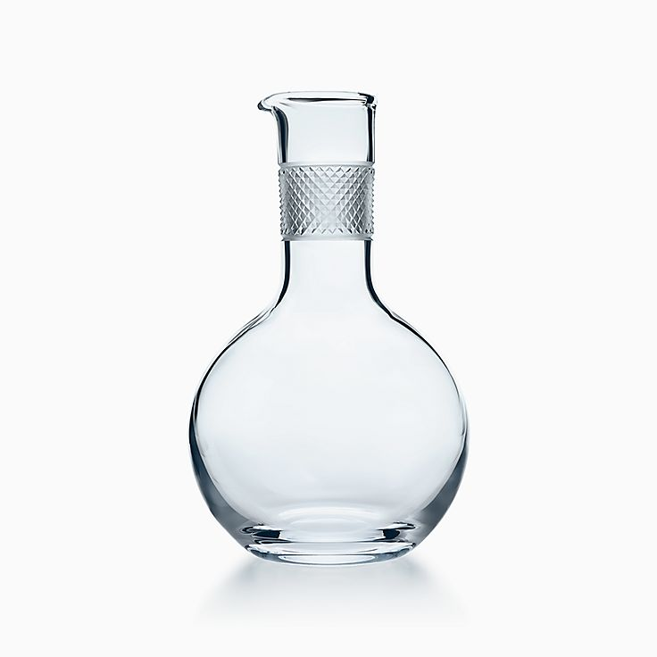 Diamond Point:Round Decanter