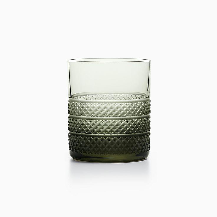 Diamond Point:Single Old-fashioned Glass