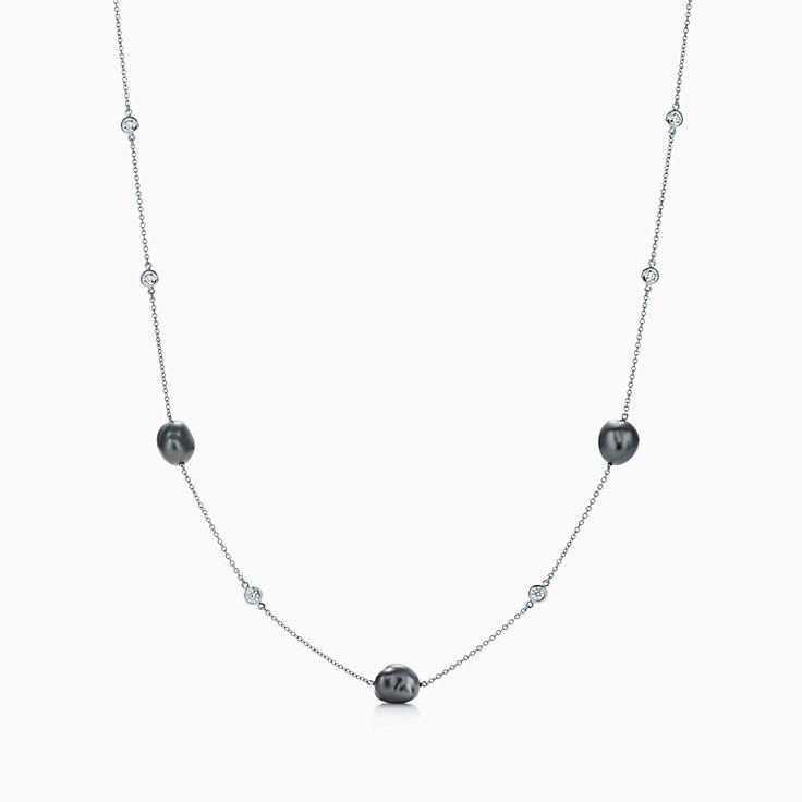 Elsa Peretti™:Ожерелье с жемчугом