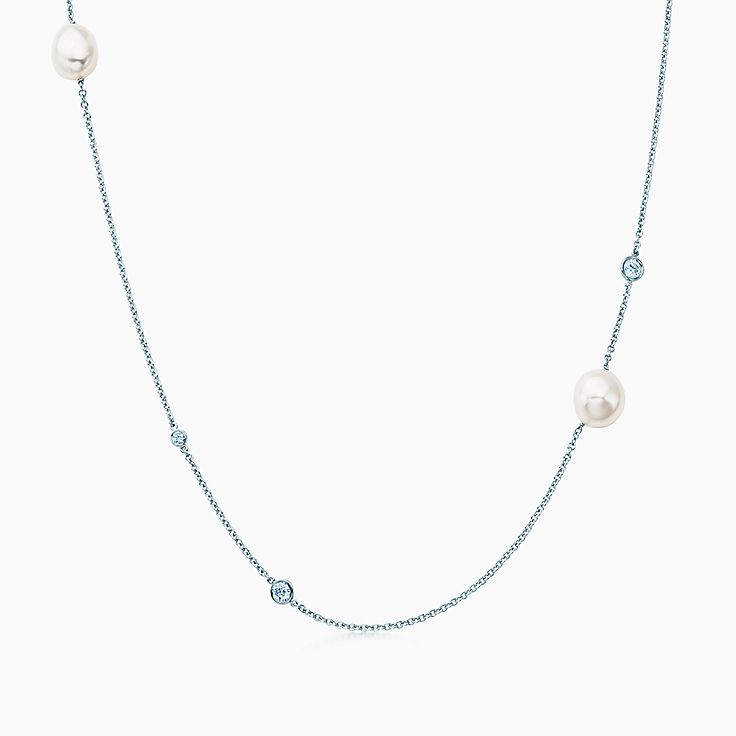 Elsa Peretti™:Асимметричное ожерелье
