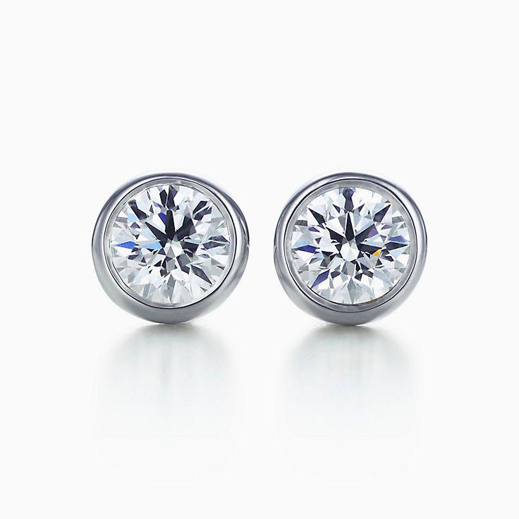 Elsa Peretti™: Brincos Diamonds by the Yard™