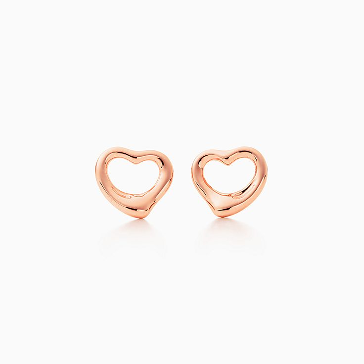 Elsa Peretti™: brincos Open Heart