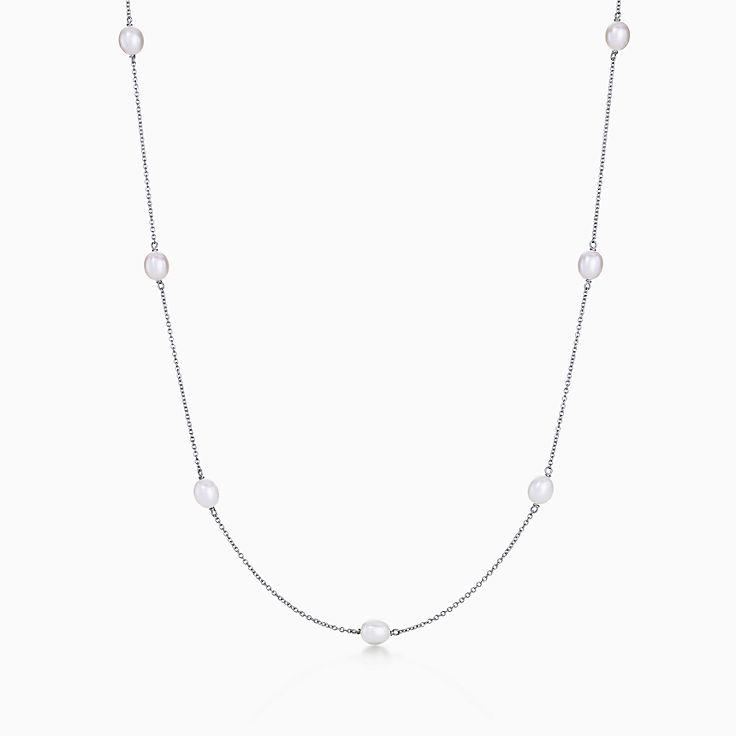 Elsa Peretti™: colar Pearls by the Yard™