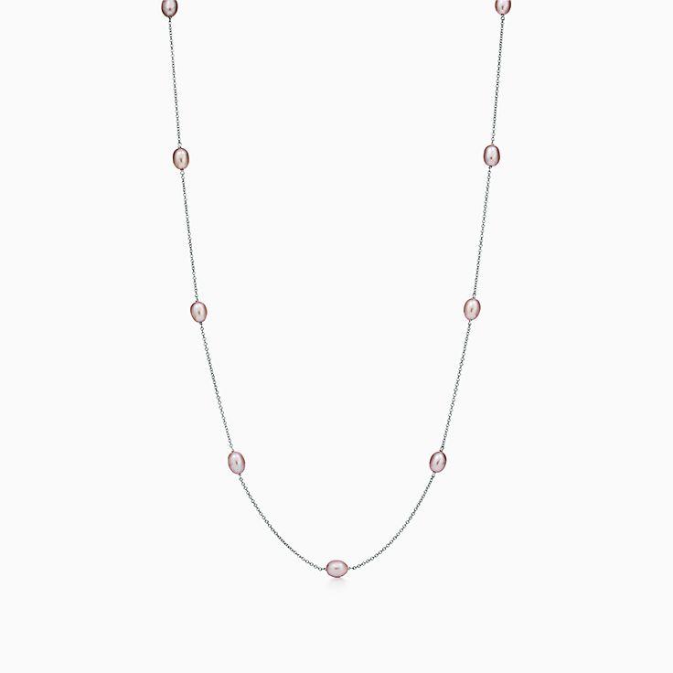 Elsa Peretti®: colar Pearls by the Yard™