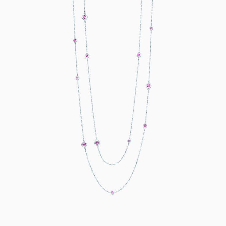 Elsa Peretti™: асимметричное ожерелье Color by the Yard