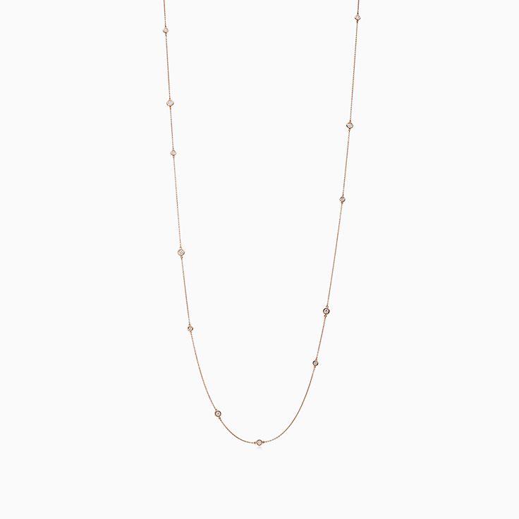 Elsa Peretti™: асимметричное ожерелье Diamonds by the Yard™