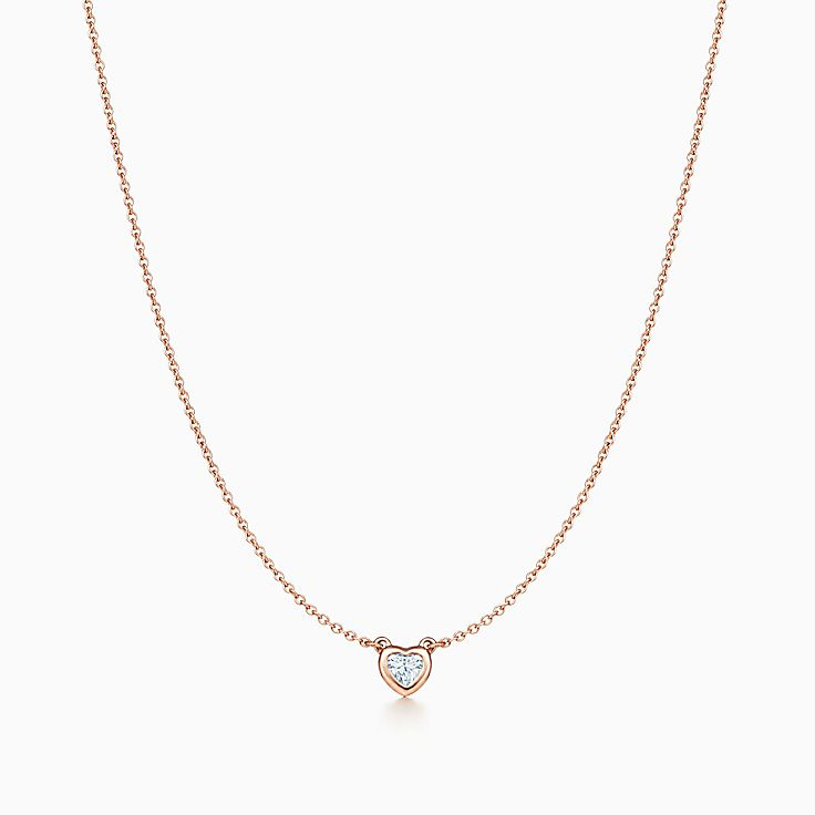 Elsa Peretti™: ожерелье Heart Diamonds by the Yard™