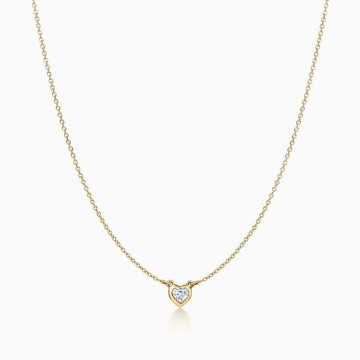 Elsa Peretti™: ожерелье Heart Diamonds by the Yard™
