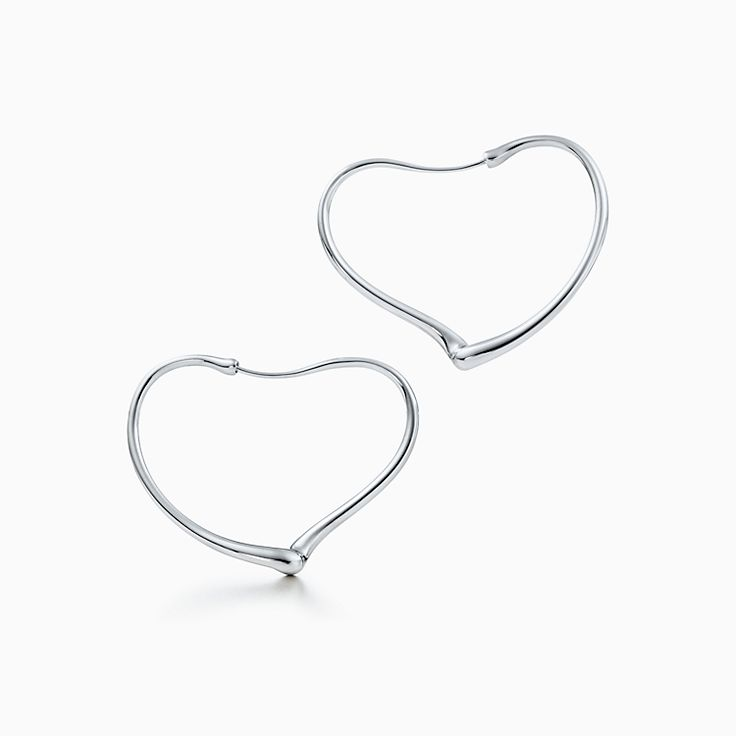 Elsa Peretti™: серьги-кольца Open Heart