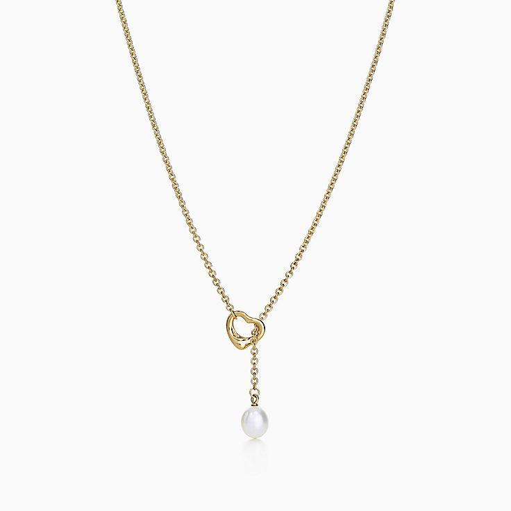 Elsa Peretti™: ожерелье-лассо Open Heart