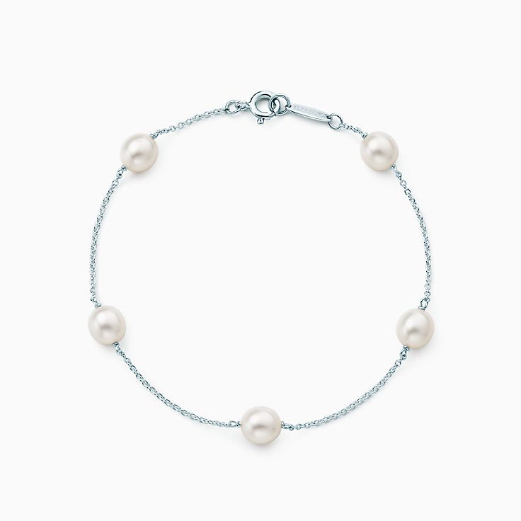 Elsa Peretti™: pulseira Pearls by the Yard™