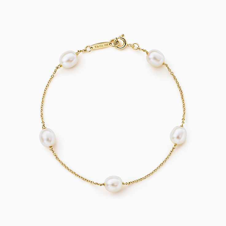 Elsa Peretti™: pulseira Pearls by the Yard™
