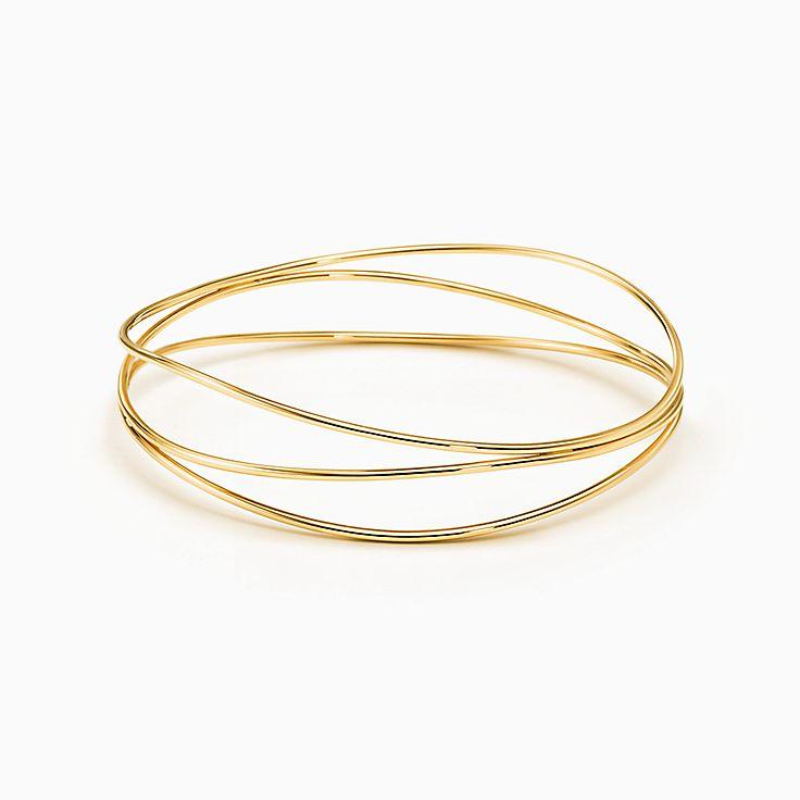 Elsa Peretti™:Трехрядный браслет Wave