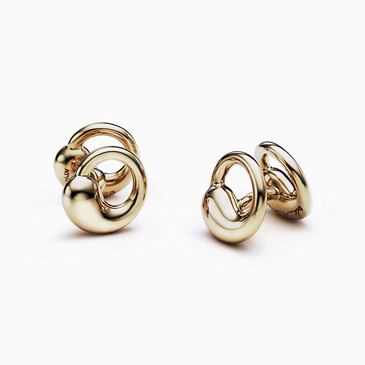 Elsa Peretti®:Circle Cuff Links