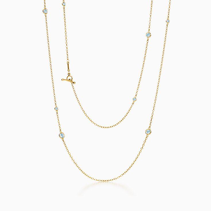 Elsa Peretti™:Diamonds by the Yard™ Асимметричное ожерелье