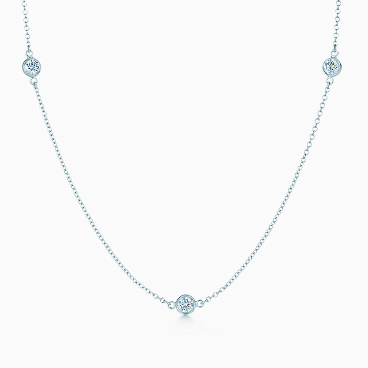 Elsa Peretti™:Diamonds by the Yard™ Ожерелье