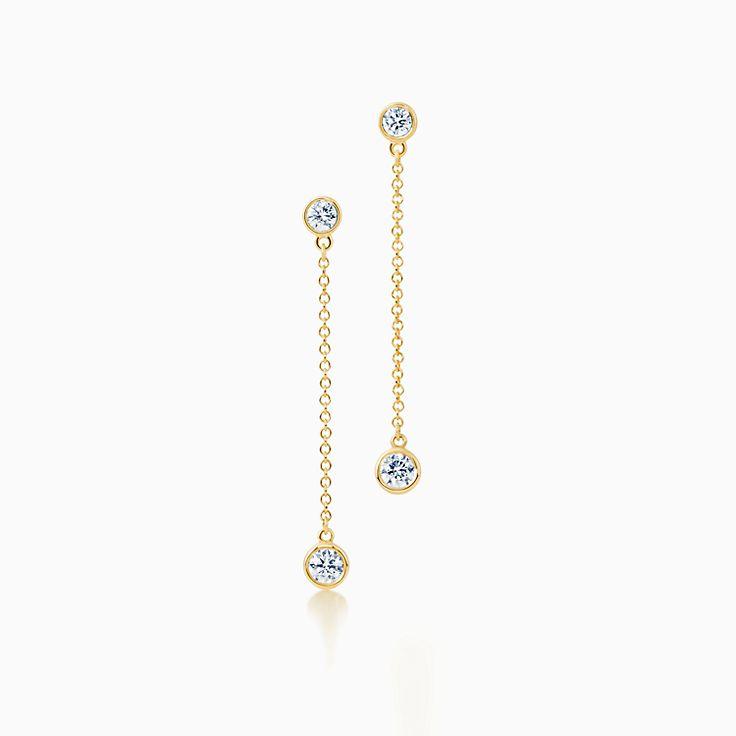 Elsa Peretti™:Diamonds by the Yard™ Серьги с подвесками