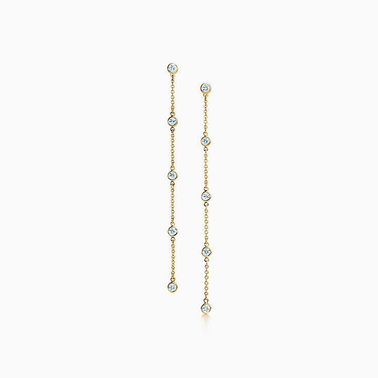 Elsa Peretti®:Diamonds by the Yard® Drop Earrings