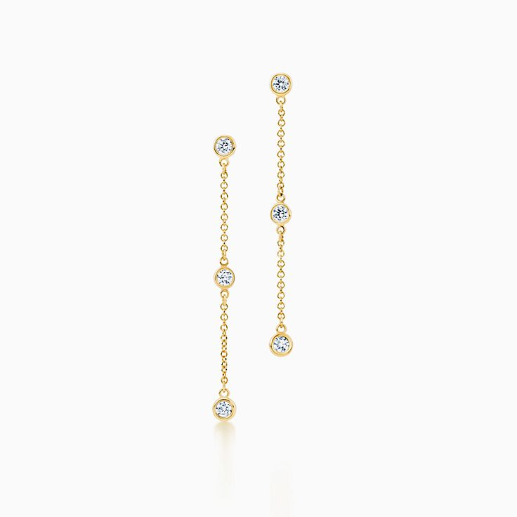 Elsa Peretti®:Diamonds by the Yard® Drop Earrings