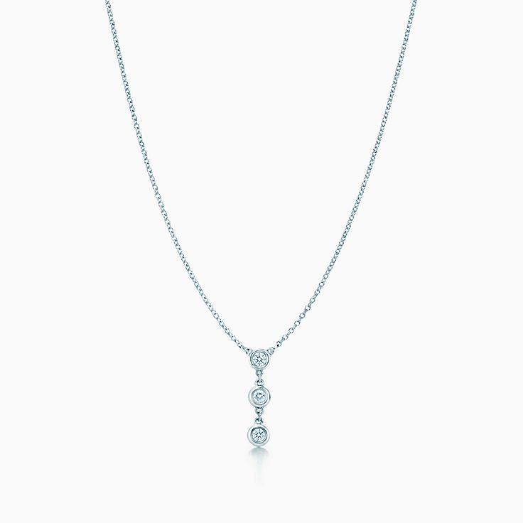 Elsa Peretti®:Diamonds by the Yard® Drop Pendant