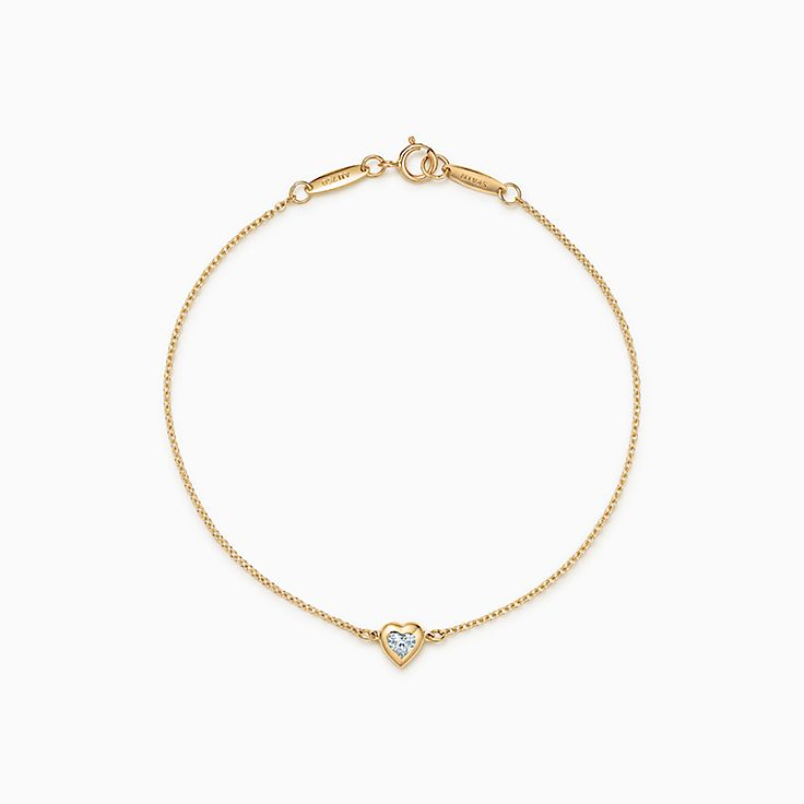 Elsa Peretti®:Diamonds by the Yard® Heart Bracelet