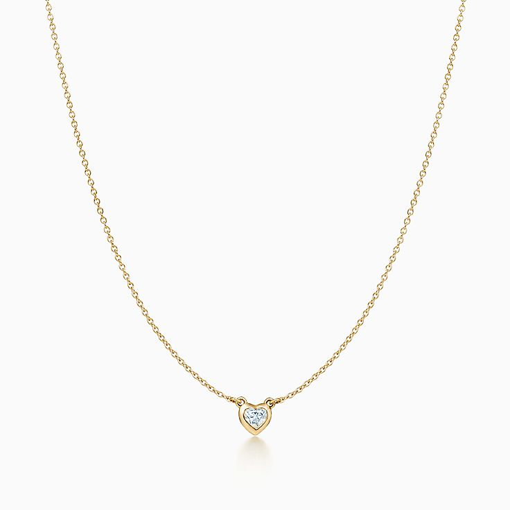 Elsa Peretti®:Diamonds by the Yard® Heart Necklace