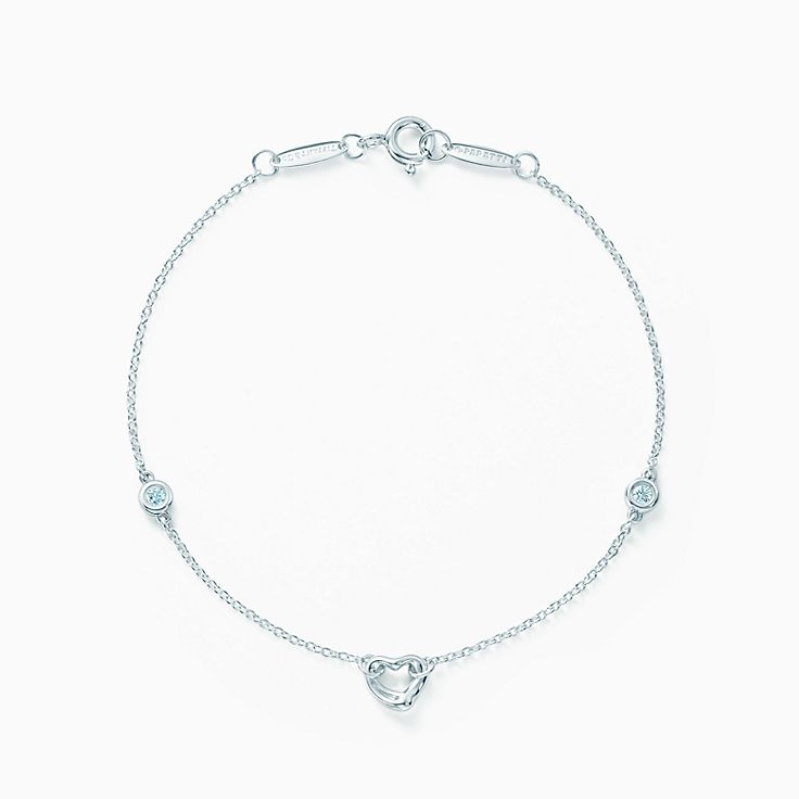 Elsa Peretti®:Diamonds by the Yard® Open Heart Bracelet
