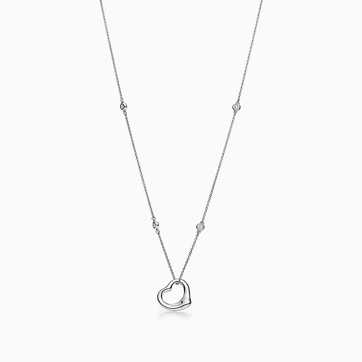 Elsa Peretti®:Diamonds by the Yard® Open Heart Pendant