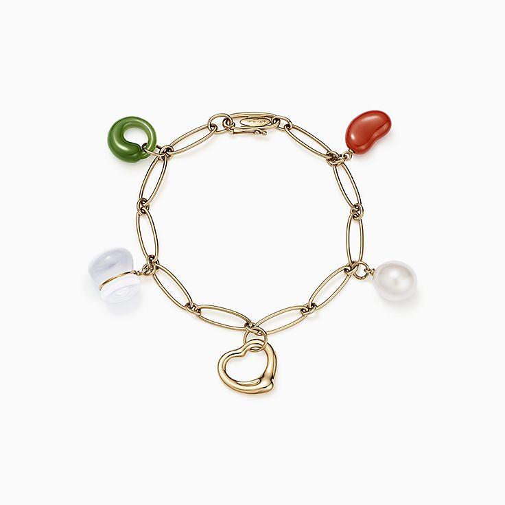 Elsa Peretti®:Five-Stone Charm Bracelet
