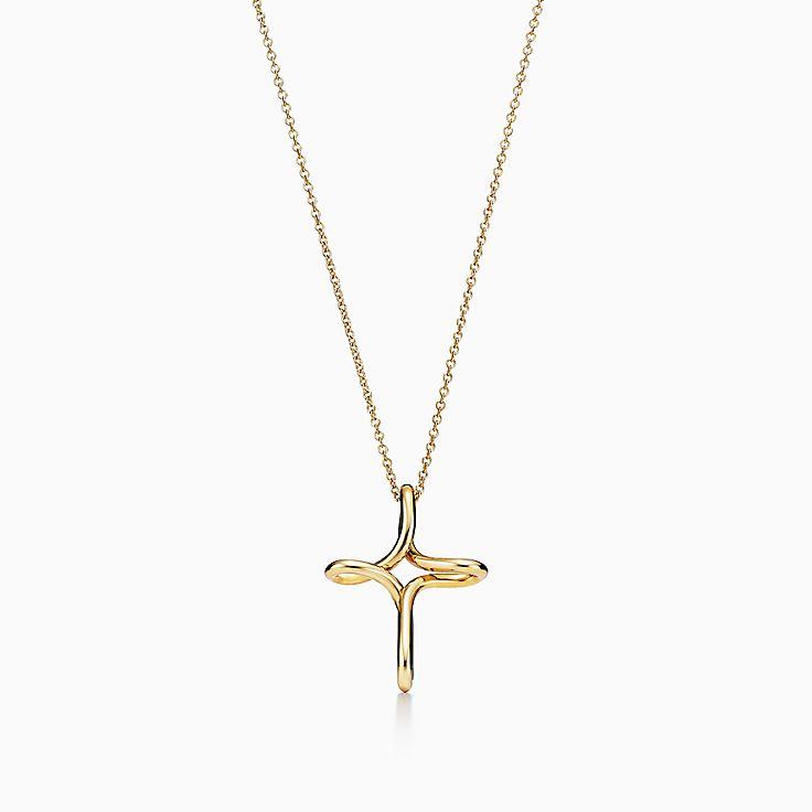 Elsa Peretti®:Infinity Cross Pendant