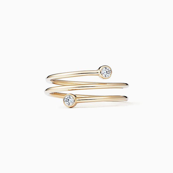 Elsa Peretti(MD): bague Cerceau Diamant