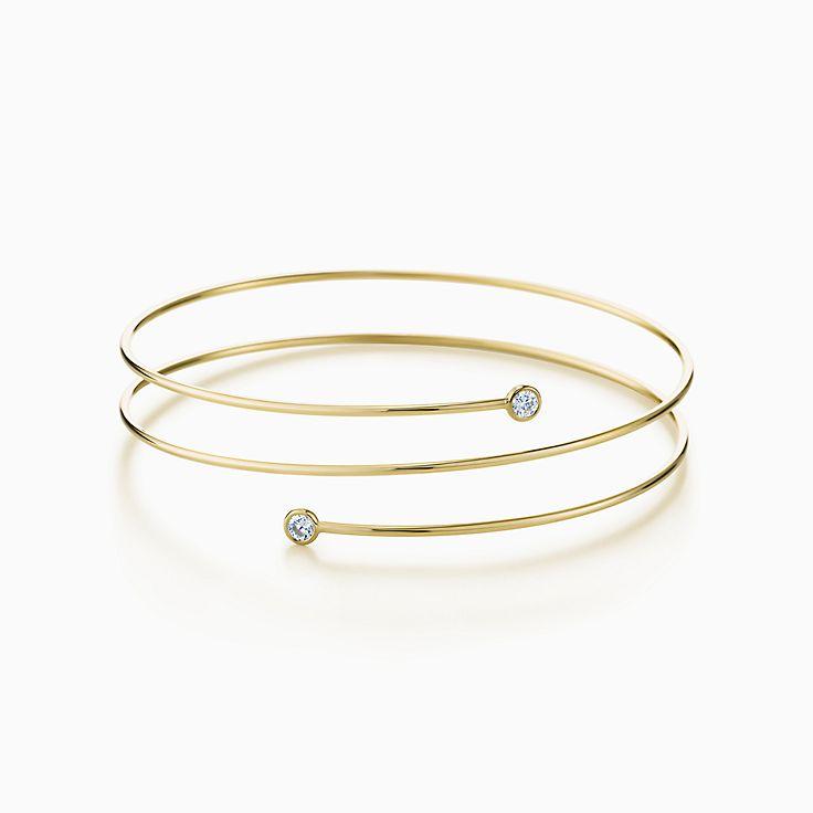 Elsa Peretti(MD): Bracelet cerceau Diamant