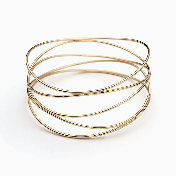 Elsa Peretti(MD):Bracelet jonc à cinqrangs Vague