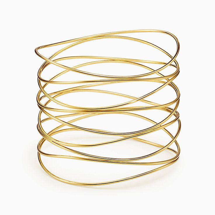 Elsa Peretti(MD):Bracelet jonc à neufrangs Vague