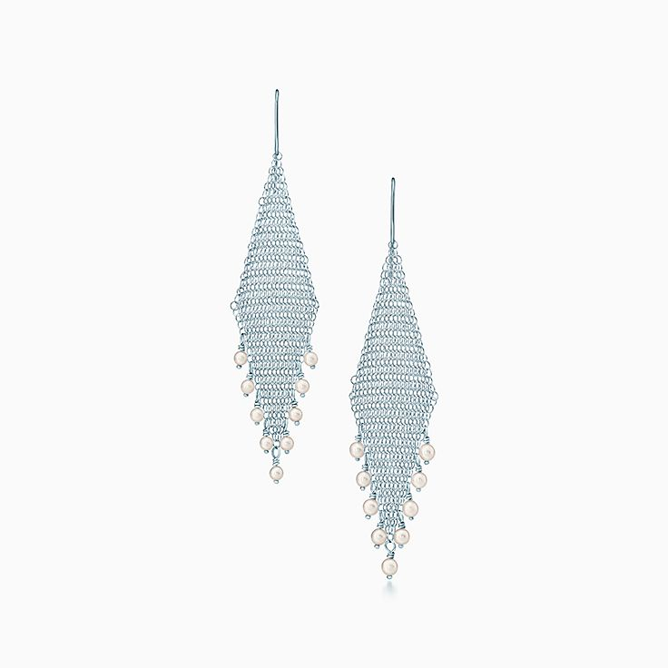 Elsa Peretti®:Mesh Fringe Earrings