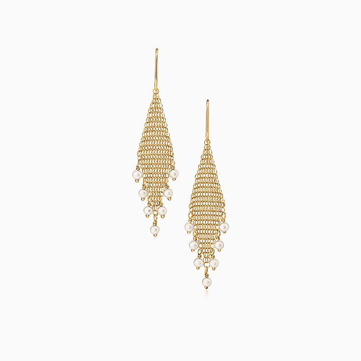 Elsa Peretti®:Mesh Fringe Earrings