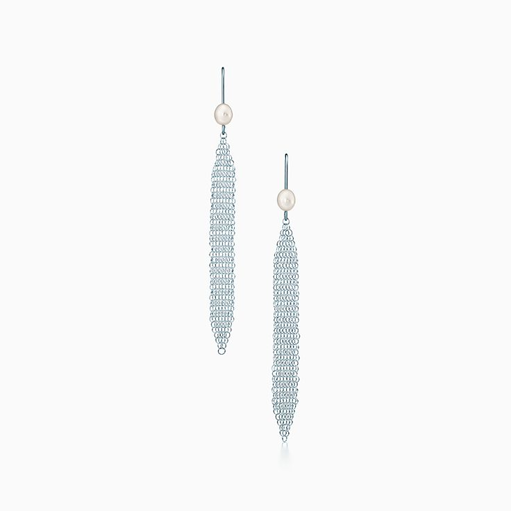 Elsa Peretti®:Mesh Tassel Earrings