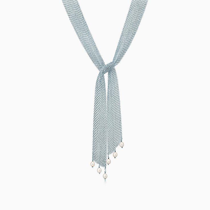 Elsa Peretti®:Mesh Tie Necklace