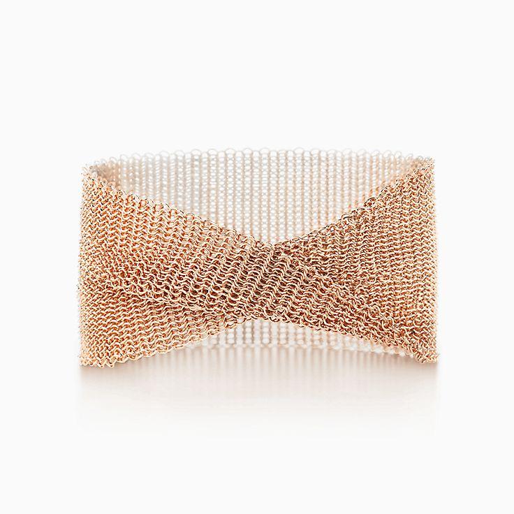 Elsa Peretti®:Mesh Wide Bracelet