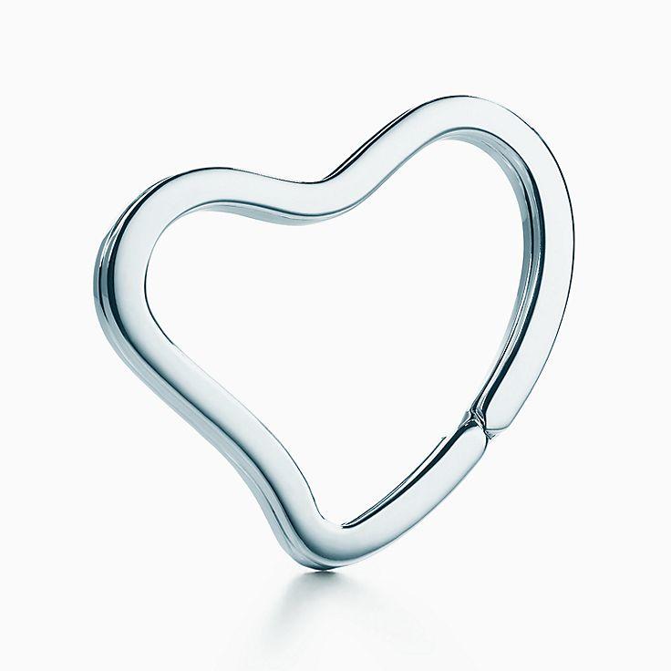 Elsa Peretti®:Open Heart 鑰匙圈