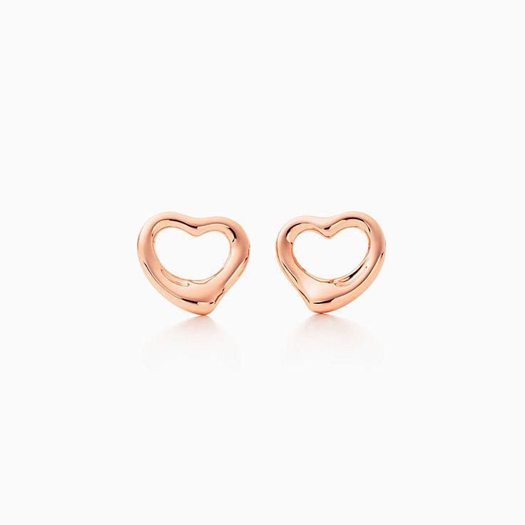 Elsa Peretti®:Open Heart 鏤空心形耳環