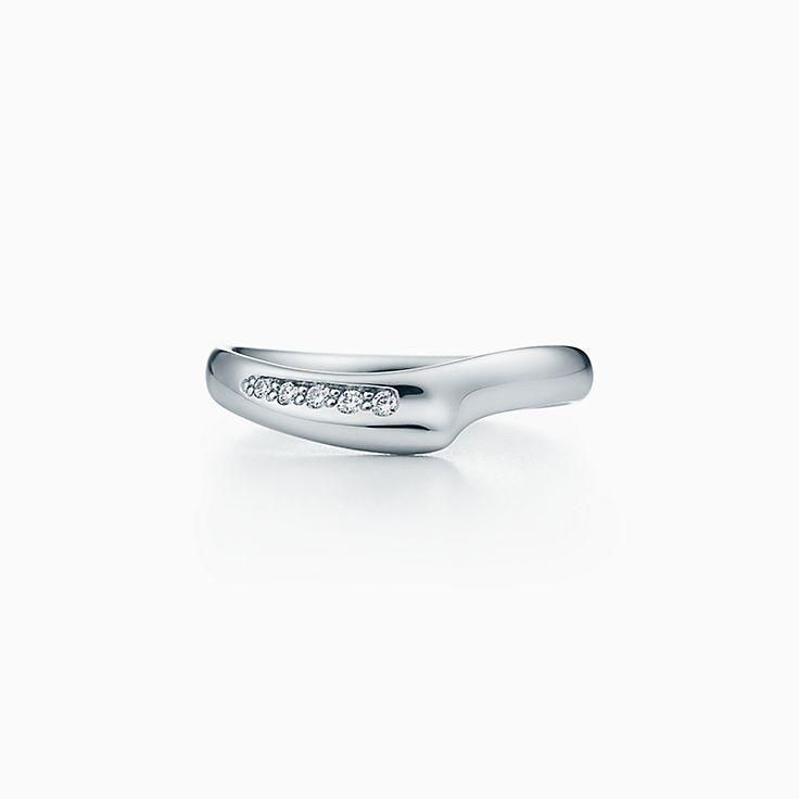 Elsa Peretti®:Open Heart Band Ring