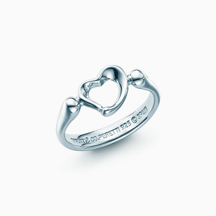 Elsa Peretti®:Open Heart Ring