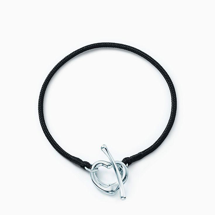 Elsa Peretti®:Open Heart Silk Bracelet