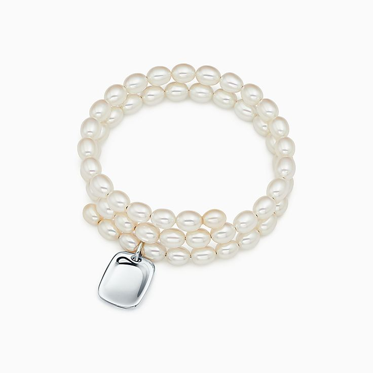 Elsa Peretti®:Pearl Tag Bracelet