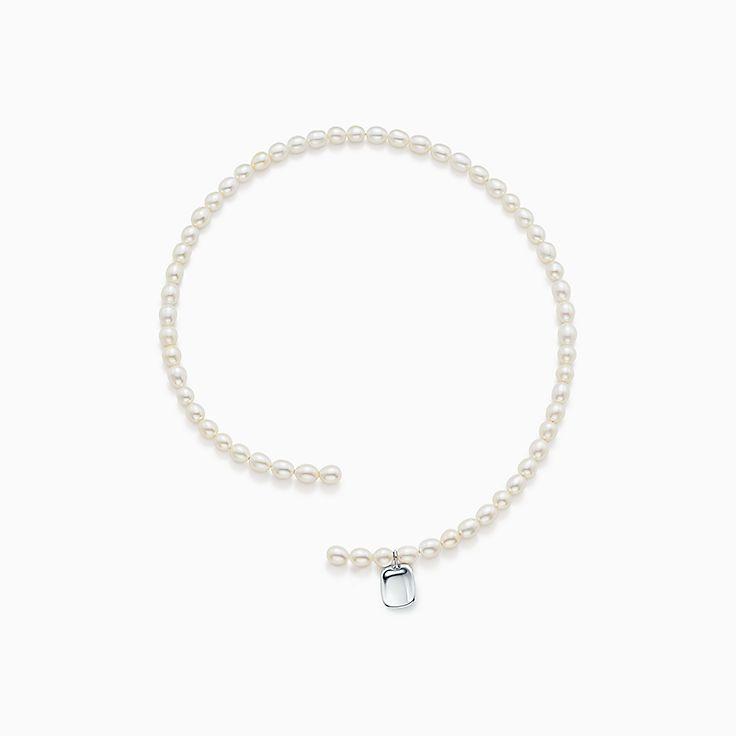 Elsa Peretti®:Pearl Tag Necklace